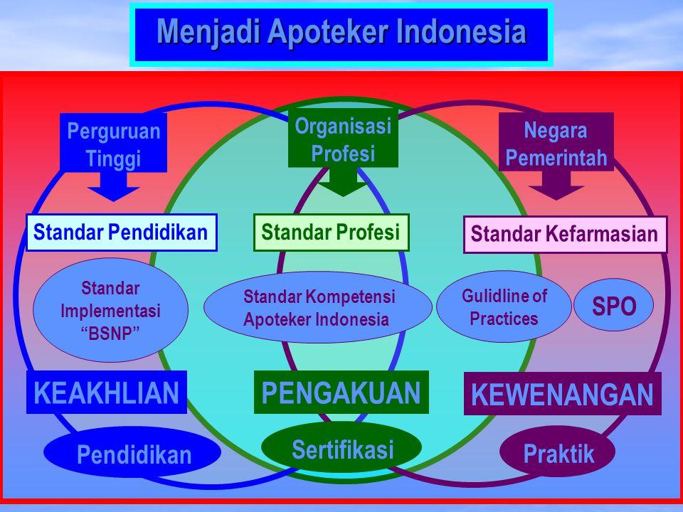 Menjadi Apoteker Indonesia