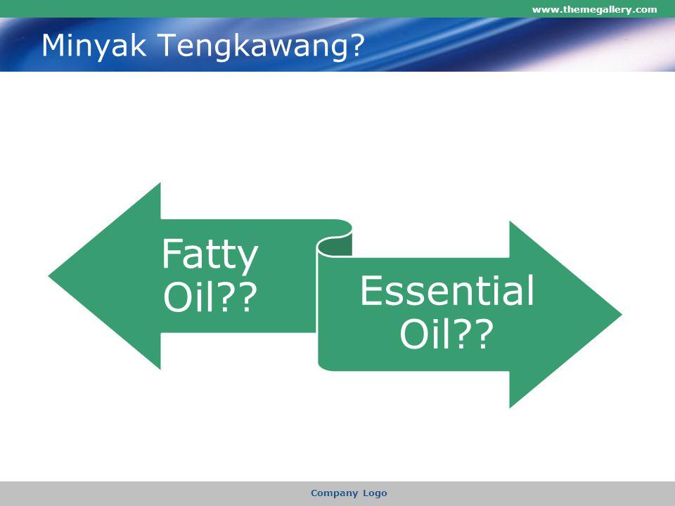 Minyak Tengkawang www.themegallery.com Company Logo Fatty Oil