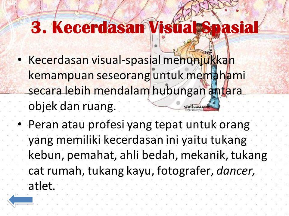 3. Kecerdasan Visual Spasial