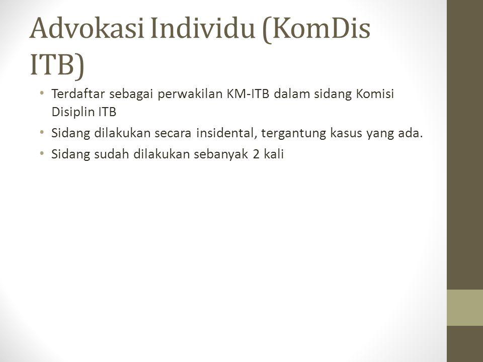 Advokasi Individu (KomDis ITB)
