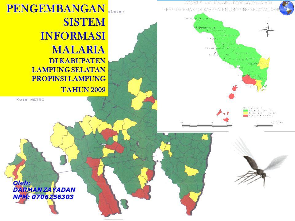 PENGEMBANGAN SISTEM INFORMASI MALARIA