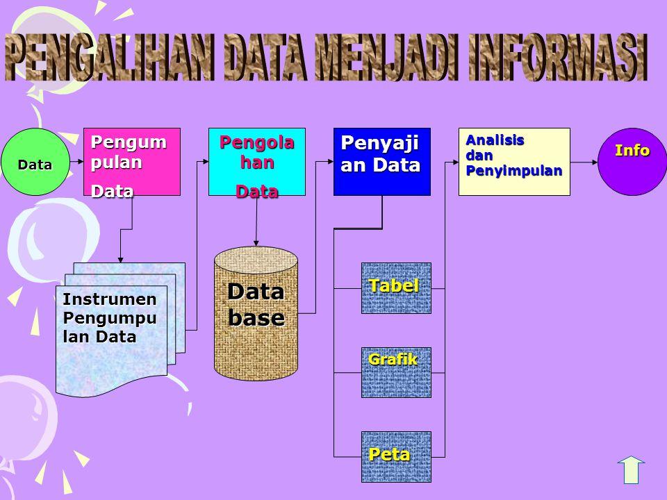 PENGALIHAN DATA MENJADI INFORMASI