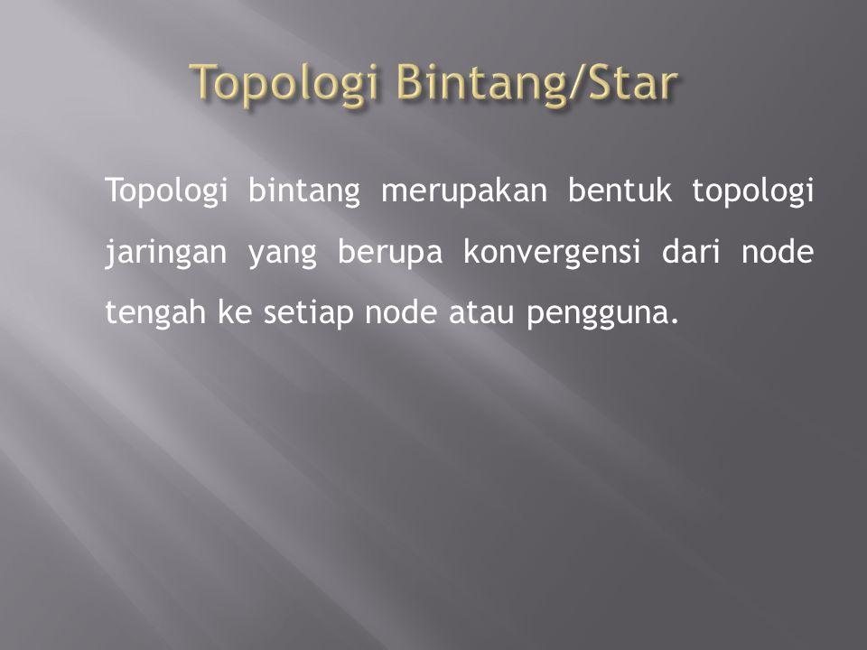 Topologi Bintang/Star