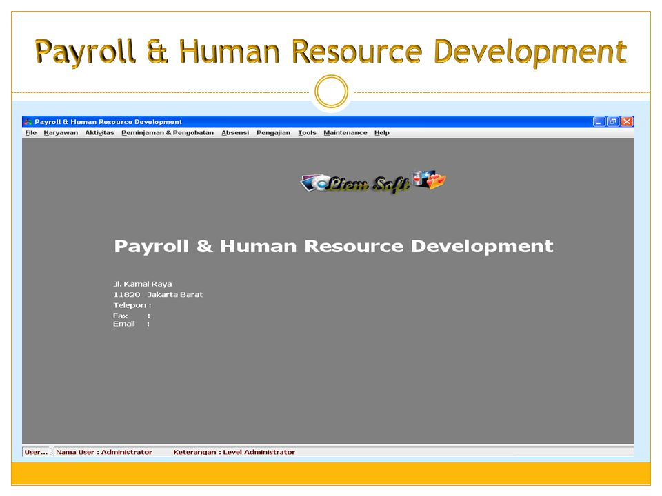 Payroll & Human Resource Development