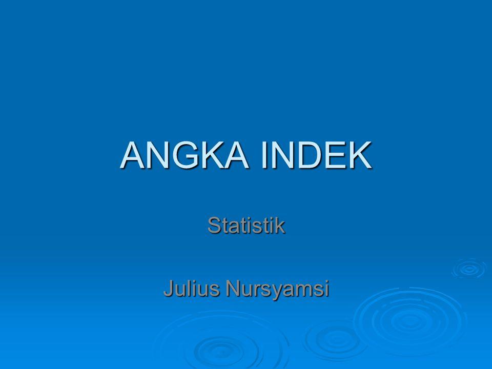 Statistik Julius Nursyamsi