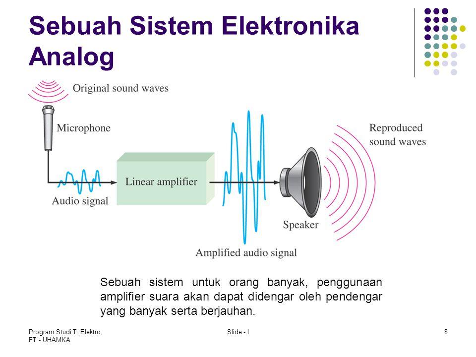 Sebuah Sistem Elektronika Analog