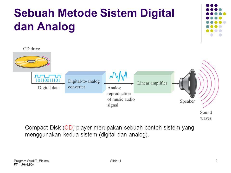 Sebuah Metode Sistem Digital dan Analog