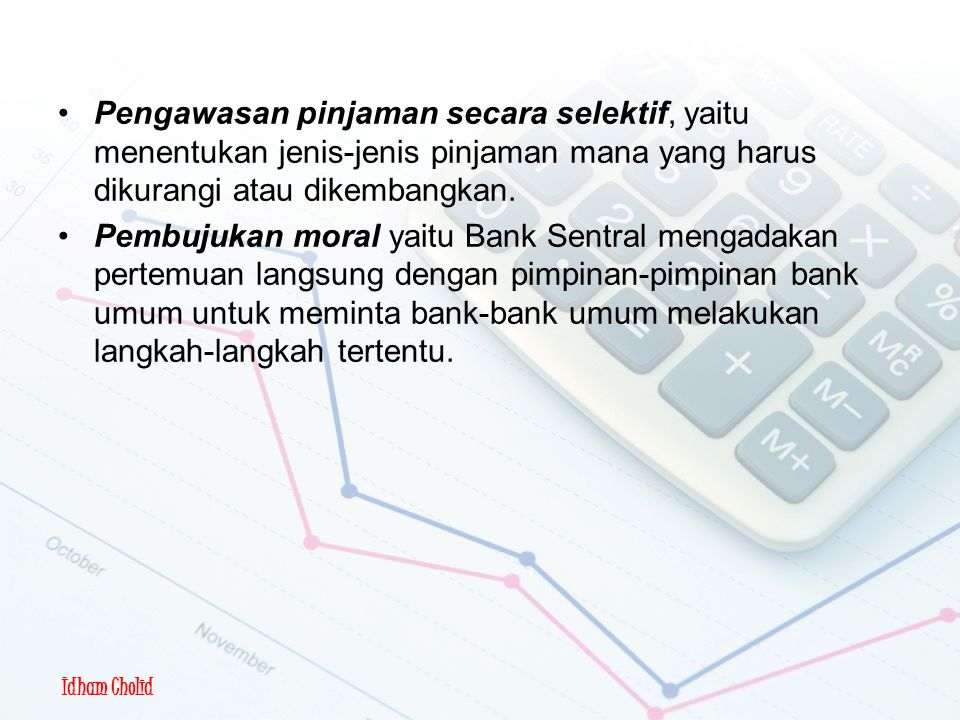 Kebijakan Moneter Kualitatif