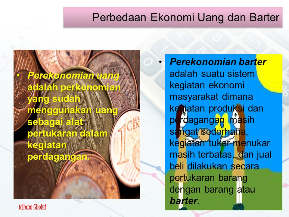 Perkonomian Barter &Uang