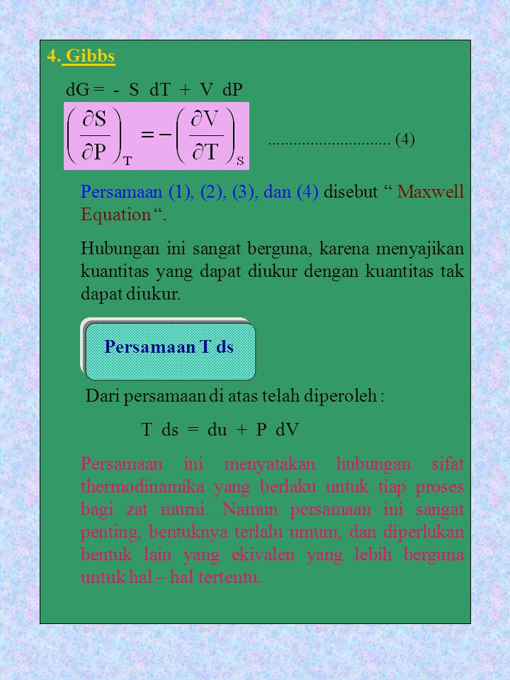 Persamaan (1), (2), (3), dan (4) disebut Maxwell Equation .