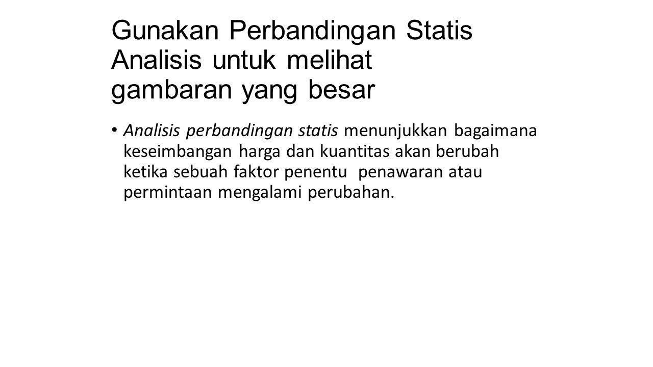 Gunakan Perbandingan Statis Analisis untuk melihat gambaran yang besar