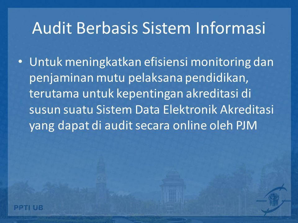 Audit Berbasis Sistem Informasi