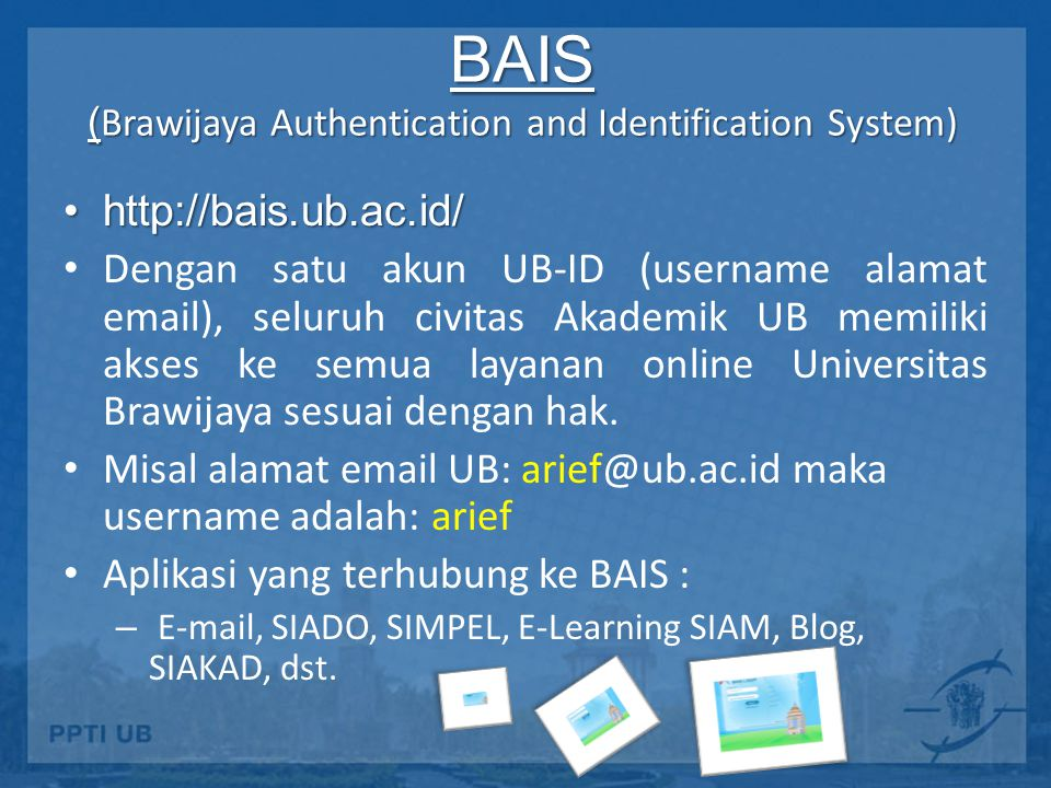 BAIS (Brawijaya Authentication and Identification System)