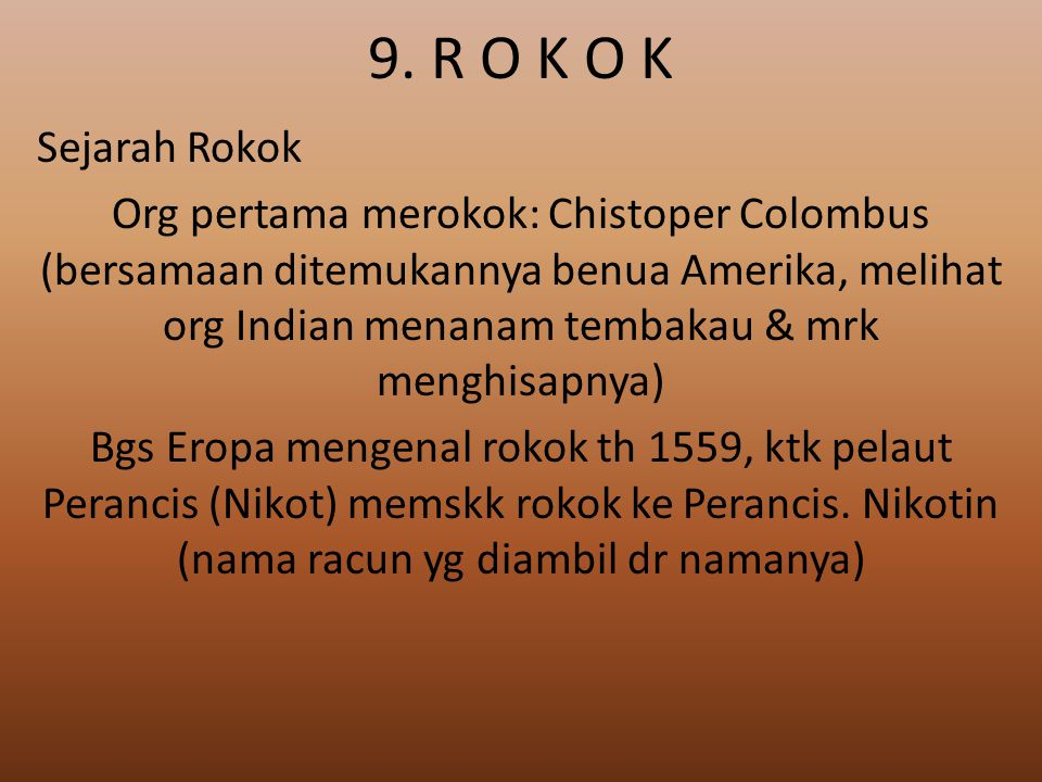 9. R O K O K