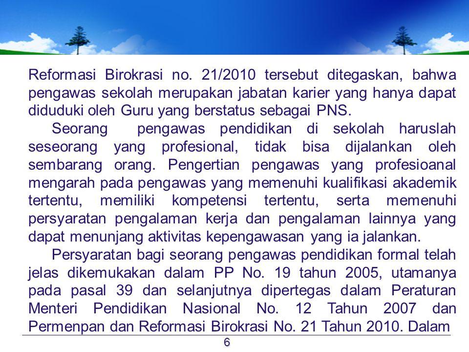 Reformasi Birokrasi no