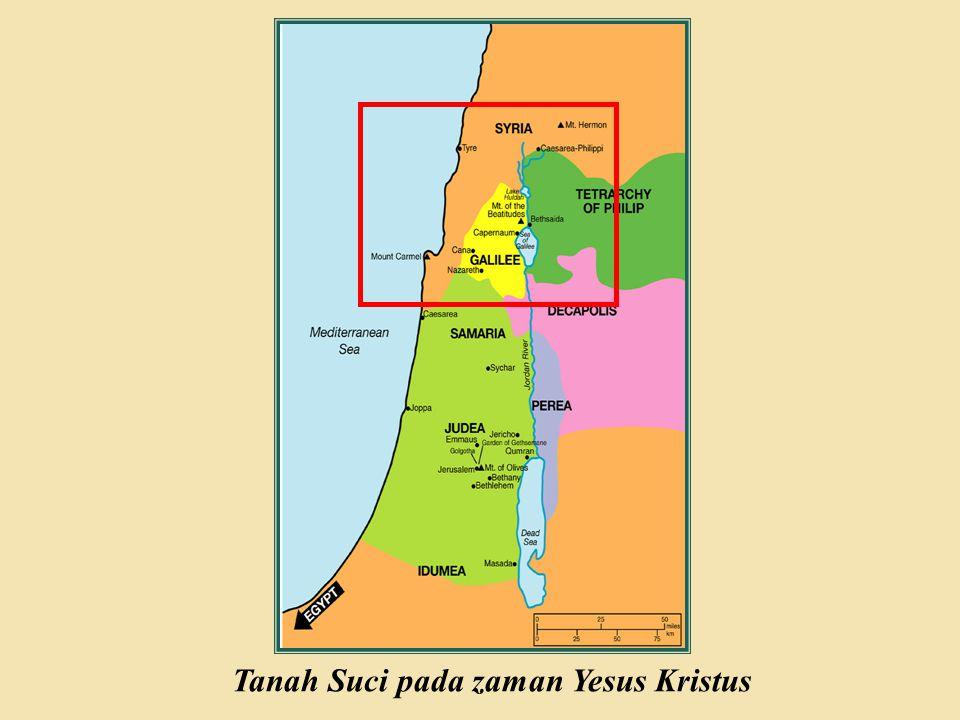 Tanah Suci pada zaman Yesus Kristus