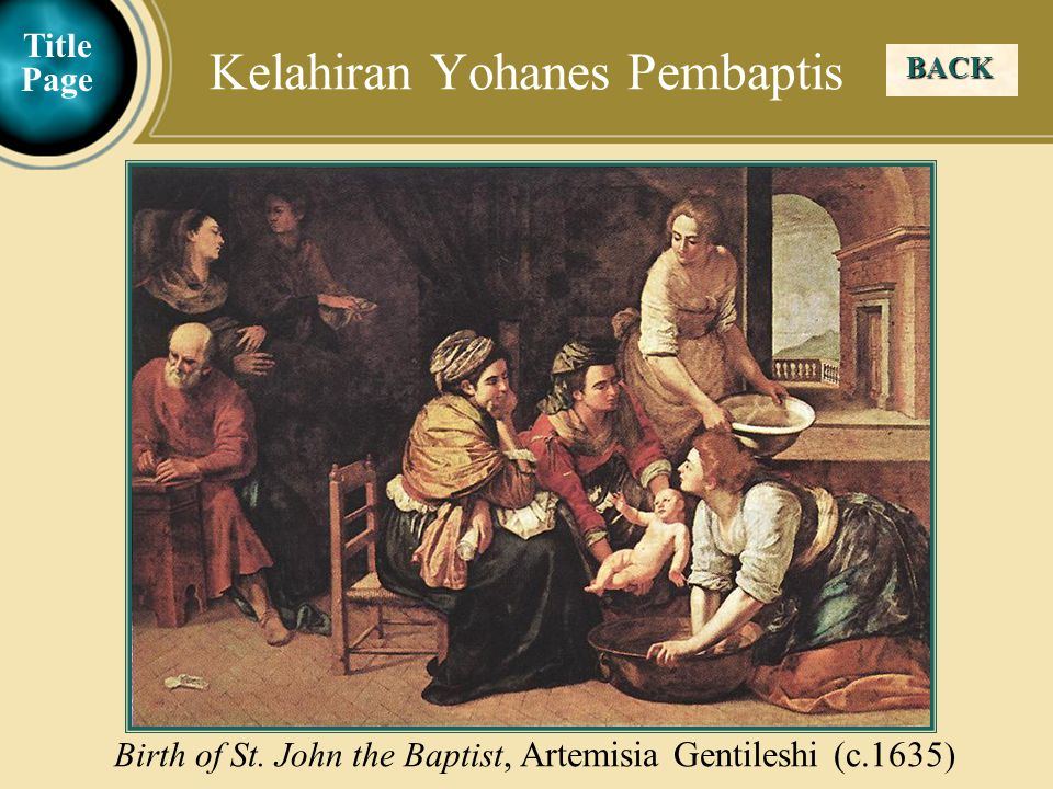Kelahiran Yohanes Pembaptis
