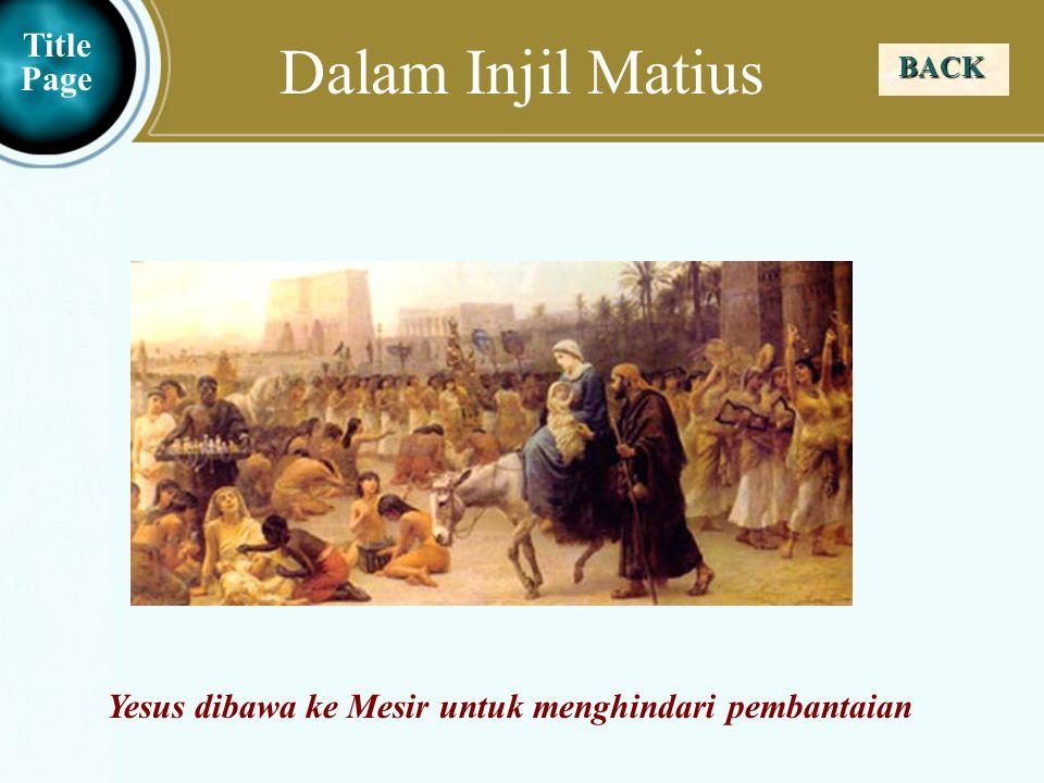 Dalam Injil Matius Title Page