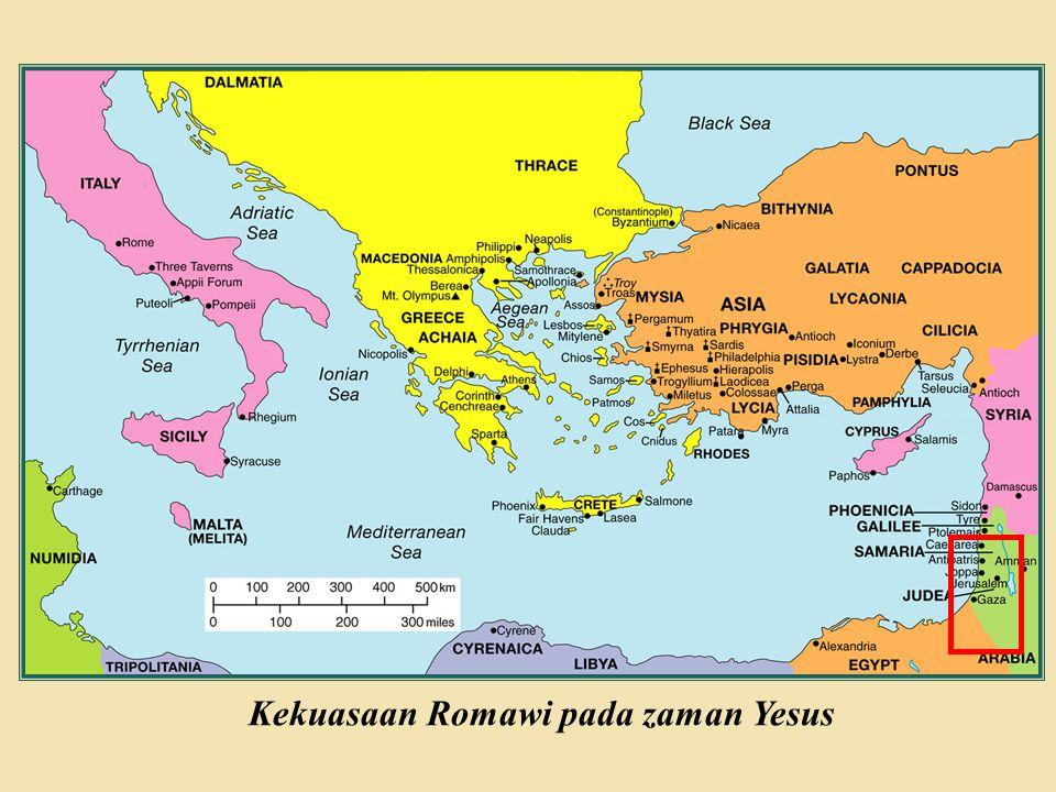 Kekuasaan Romawi pada zaman Yesus