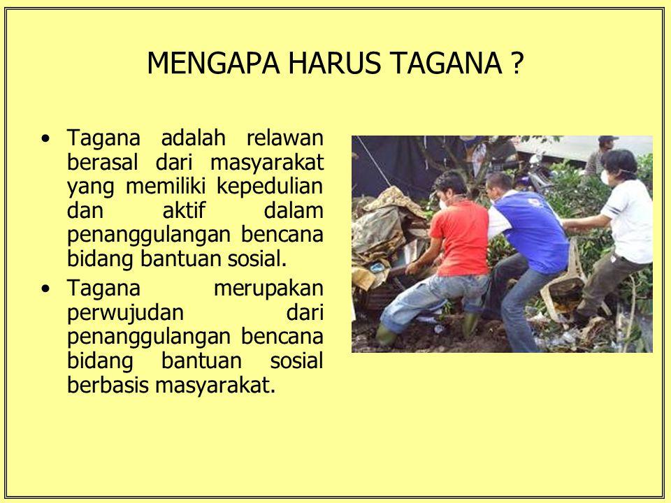 MENGAPA HARUS TAGANA