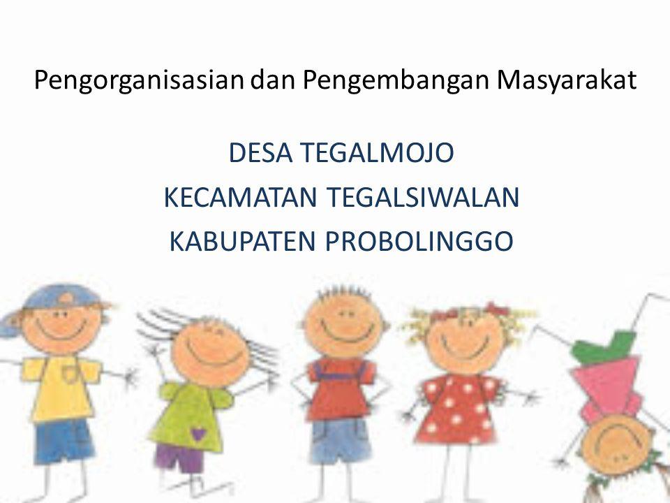 Pengorganisasian dan Pengembangan Masyarakat