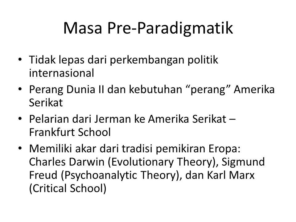 Masa Pre-Paradigmatik