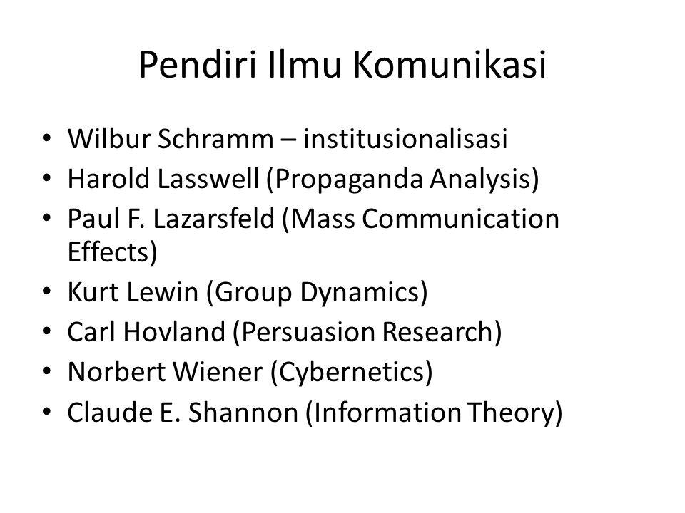 Pendiri Ilmu Komunikasi