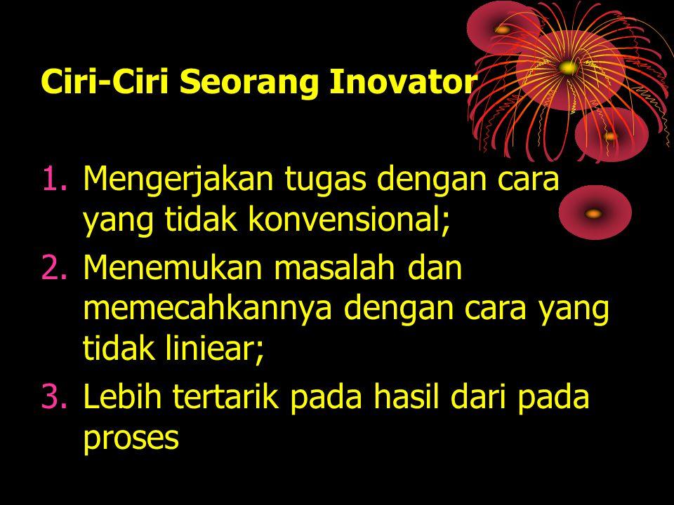 Ciri-Ciri Seorang Inovator