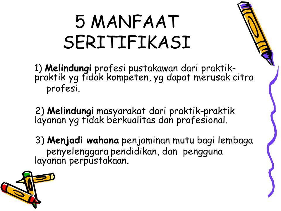 5 MANFAAT SERITIFIKASI profesi.