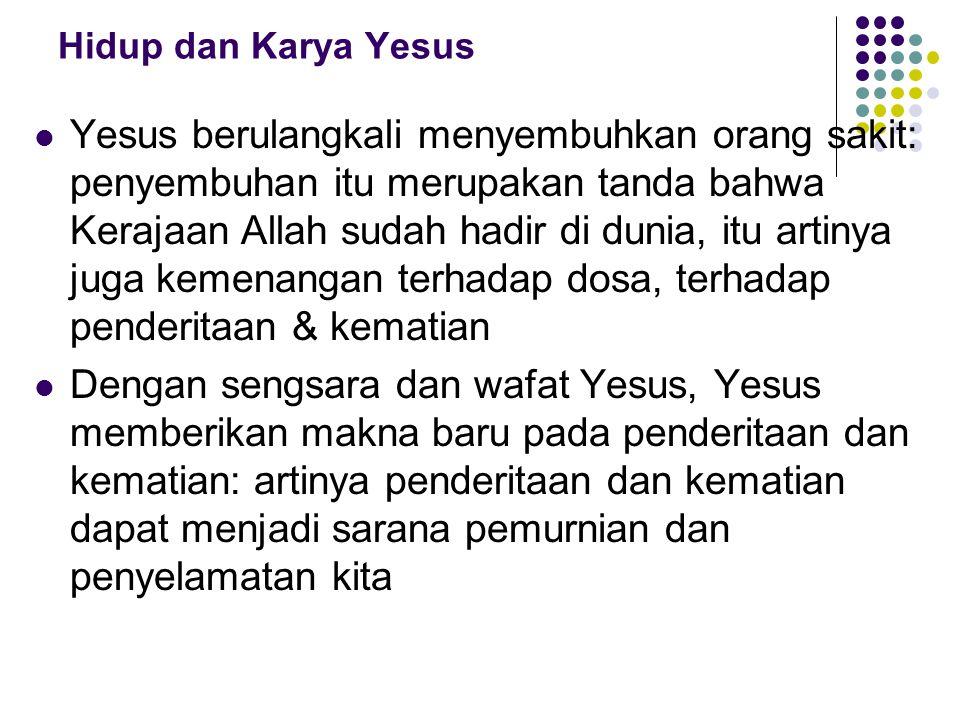 Hidup dan Karya Yesus