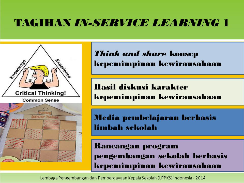 TAGIHAN IN-SERVICE LEARNING 1