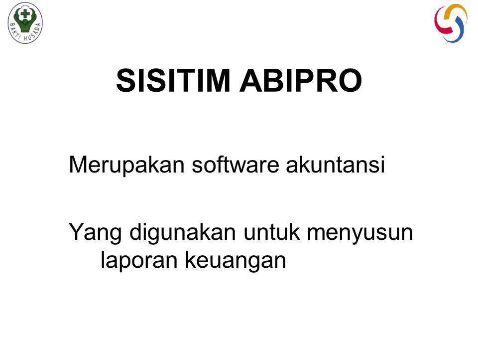 SISITIM ABIPRO Merupakan software akuntansi