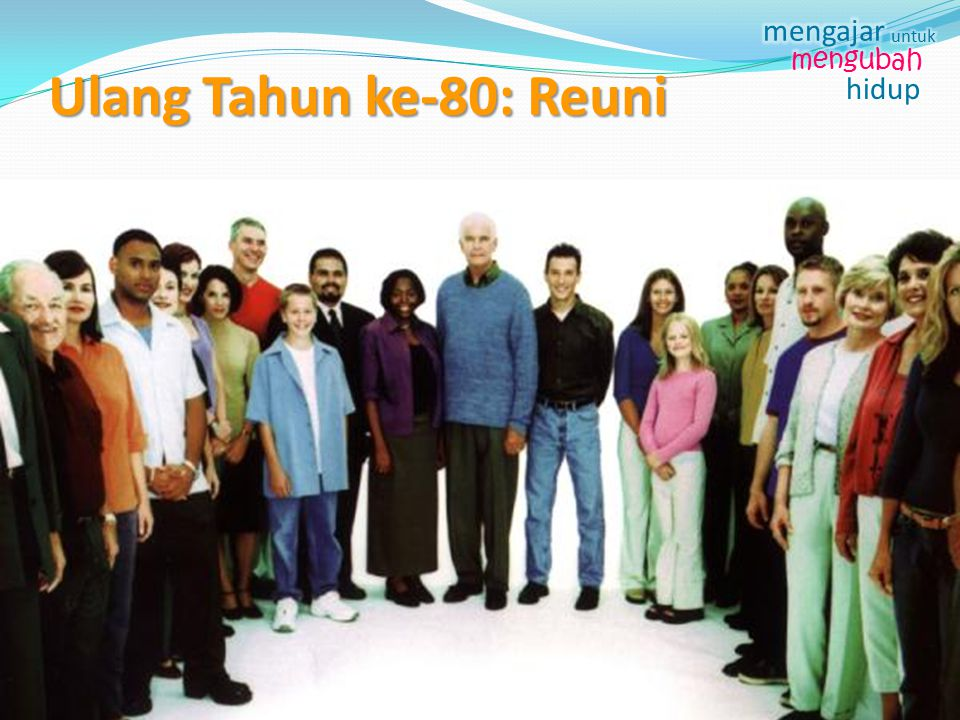 Ulang Tahun ke-80: Reuni +