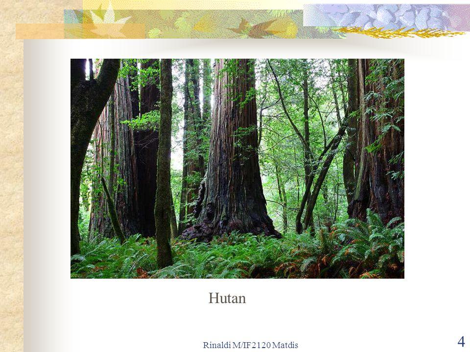 Hutan Rinaldi M/IF2120 Matdis