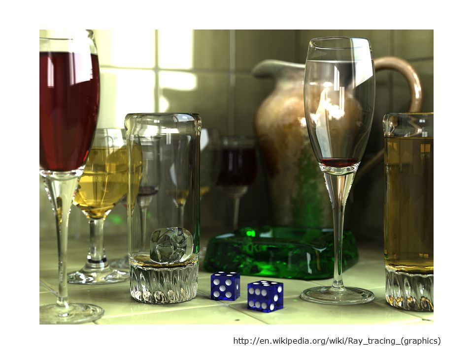 http://en.wikipedia.org/wiki/Ray_tracing_(graphics)