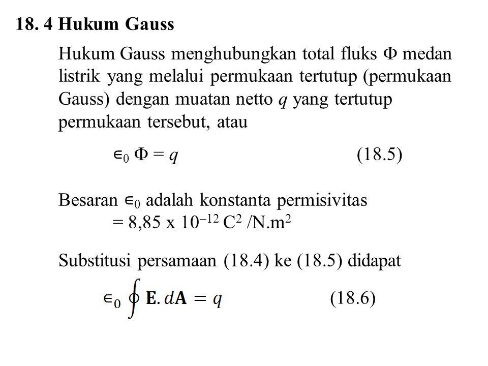 18. 4 Hukum Gauss