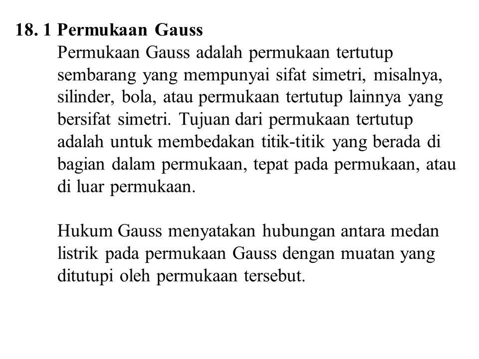 18. 1 Permukaan Gauss