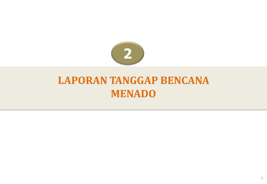 LAPORAN TANGGAP BENCANA