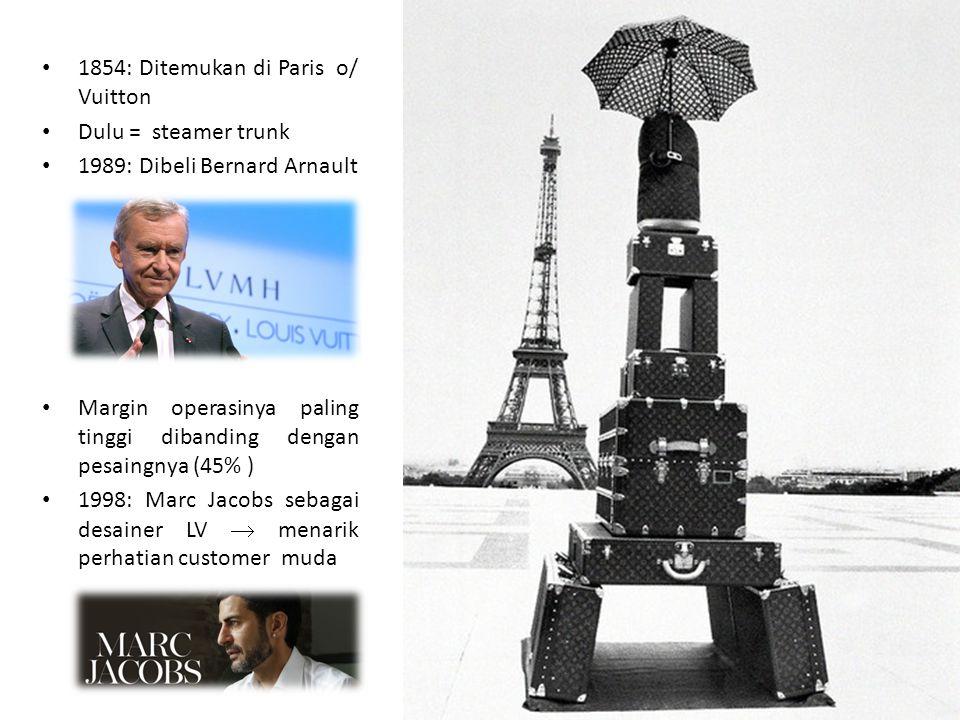 1854: Ditemukan di Paris o/ Vuitton