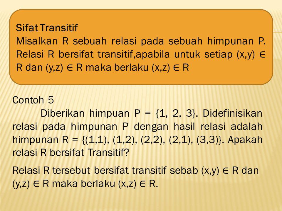 Sifat Transitif