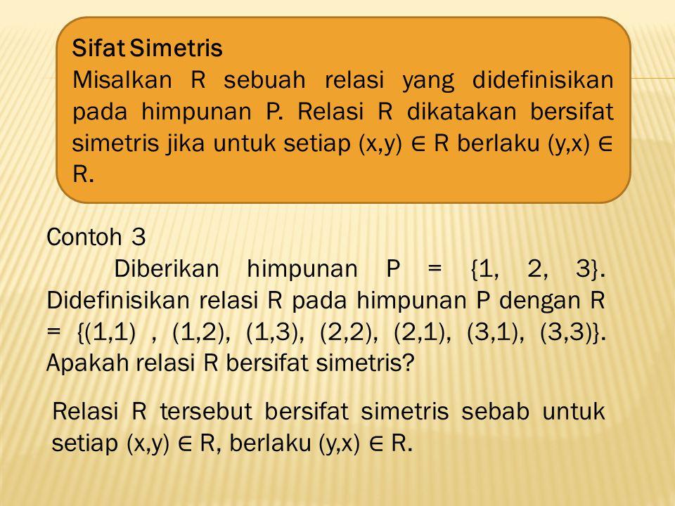 Sifat Simetris