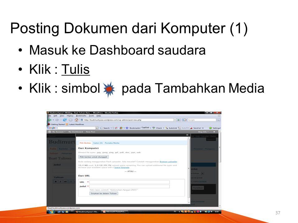Posting Dokumen dari Komputer (1)