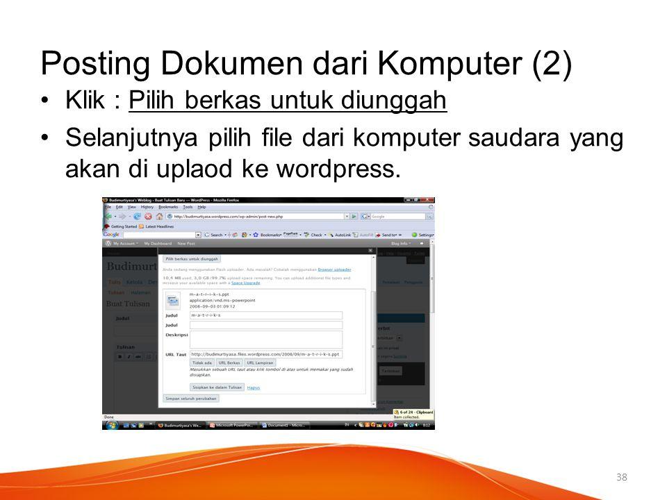 Posting Dokumen dari Komputer (2)