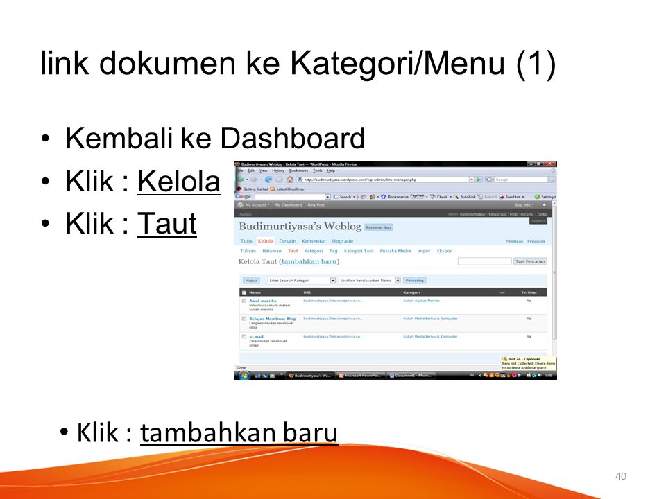 link dokumen ke Kategori/Menu (1)