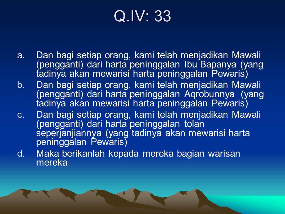 Q.IV: 33