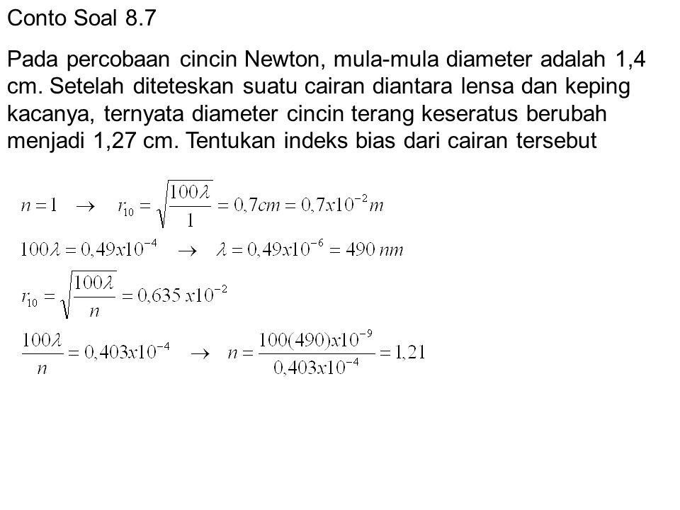 Conto Soal 8.7