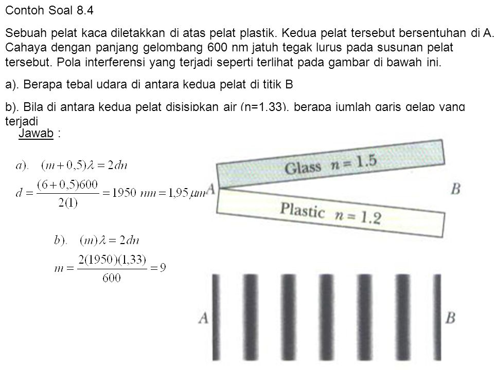 Contoh Soal 8.4