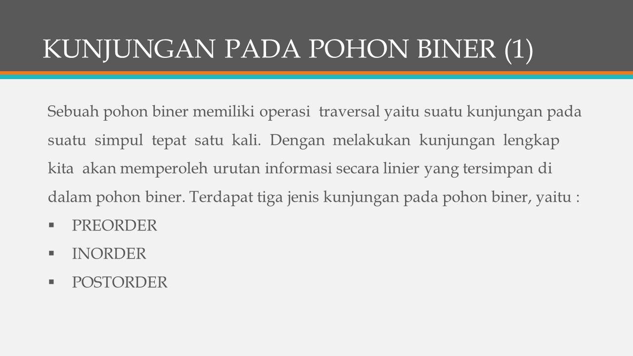 KUNJUNGAN PADA POHON BINER (1)
