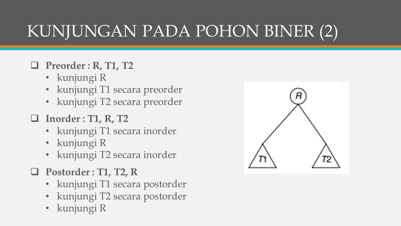 KUNJUNGAN PADA POHON BINER (2)