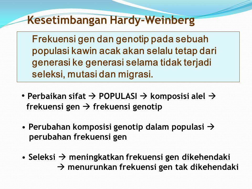 Kesetimbangan Hardy-Weinberg